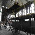 El equipo de destilación, 25-30T -