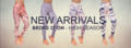 Múltiples polainas / pantalones de yoga -