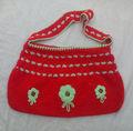 Calidad look-botones de moda -Dar ganchillo bolsa de hombro-Multicolors trabajan a todo tipo de hechos a mano bolsas de todos los tamaños mediano y pequeño-grande-exportable -