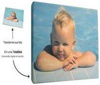 Pantalla Impreso En Tela con su foto digital (lienzo) -