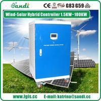 Regulador del generador hidroeléctrico de 20KW para sistema de alimentación de agua hidro turbina -