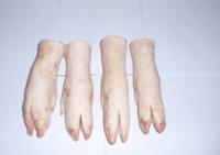Congelados patas delanteras del cerdo, los pies congelados traseras, las orejas de cerdo congelado y otras partes de corte de carne de cerdo congelada. -