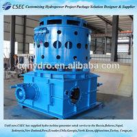 Turbina del agua de Kaplan / energía hidroeléctrica de agua precio de Turbina hidroeléctrica FOB referencia precio: consiga el último precio -