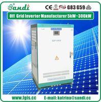 3KW ~ 500kw fotovoltaica Inversor de la apagado-rejilla Solar 500-850VDC de entrada para sistemas de almacenamiento de energía no -