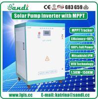 45KW bomba inversor Solar para riego agrícola con MPPT CE aprobado -
