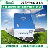 PWM viento solar híbrido regulador 5KW -