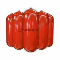 cilindro de acero norma ECE R110 GNC para vehículos 406-100L en rojo -