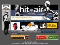 Hit chaqueta de aire de la motocicleta protector -