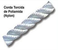 Cuerda torcida de poliamida (nylon) -