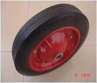 ruedas de caucho macizo -