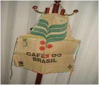 La bolsa de café delantal -