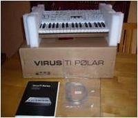 Access Virus Ti2 polar (37-Key sintetizador analógico virtual) --- 1400Euro -