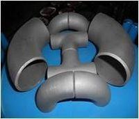 Titanio tapas de las instalaciones de tuberías codo -