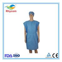 Telas no tejidas por los pacientes -
