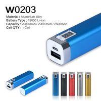 100% original de la nueva marca Banco de la energía 2000mAh de copia de seguridad de baterías externas con USB para el iPhone 6s Plus Samsung S6 redmi Mi Pad -