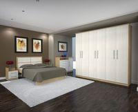 Mueble Madera Las puertas del armario abierto -