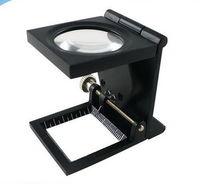 Aleación de zinc metal plegable Th9005a iluminado lupa con el puntero de la impresora -