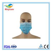 Máscaras de perchas de tela no tejida -