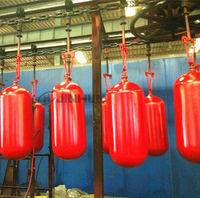 Ahorro de energía cilindro de acero de GNC para vehículos 406-95L en amarillo -