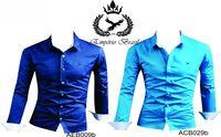 Adelgazan las camisas de Emporium Brasil masculina y femenina modelo -