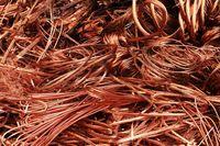 Desecho de cobre -