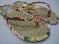 zapatillas de paja -