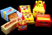 Empaque para snacks y comida rápida -
