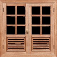 ventana de Louisiana -
