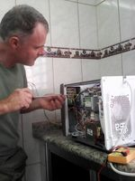Microondas mantenimiento -